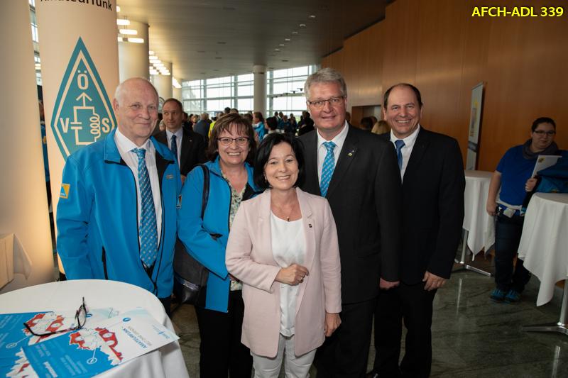 Der AFCH war zur Zivilschutztagung 2018 im Landhaus in St.Pölten eingeladen
