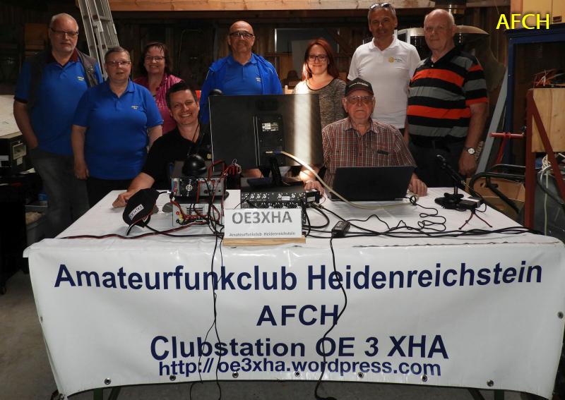 AFCH Notfunkrundspruch Mai 2018 aus dem Naturpark Heidenreichstein